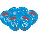 Balão de Látex Galinha Pintadinha 25 unidades Festcolor - Festabox