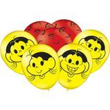 Balão de Látex Magali Melancia  25 unidades Festcolor - Festabox