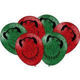 Balão de Látex Show da Luna Melancia  25 unidades Festcolor - Festabox