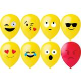 Balao Decorativo 11 Com 25 Unidades Emoticons Happy Day