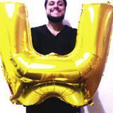 Balão Gigante Letra W Dourado Metalizado 75 Cm - Festas  decor