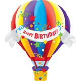 """Balão metalizado 42"""" balão de ar quente - 106cm - 1un - Qualatex"""