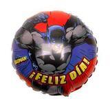 Balão Metalizado Batman Dia Feliz  n9 - Festabox