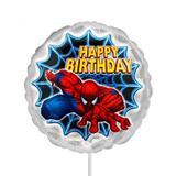 Balão Metalizado Homem Aranha Spider Man Sense n9 22cm - Festabox