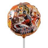 Balão Metalizado Os Vingadores n9 22 cm Anagram - Festabox