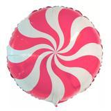 Balão Metalizado Pirulito Pink - Festabox