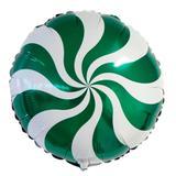 Balão Metalizado Pirulito Verde - Festabox