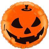 Balão Metalizado Redondo Halloween Pumpkin - Flexmetal - Festabox
