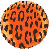 Balão Metalizado Redondo Safari Onça - Flexmetal - Festabox