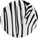 Balão Metalizado Redondo Safari Zebra - Flexmetal - Festabox