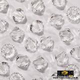 Balão Swarovki / Preciosa - 6mm - Cristal Transparente - 20 Unid - Tok bijouxs