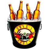 Balde De Cerveja Guns N Roses 7,5l - Versare anos dourados