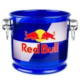 Balde de gelo em alumínio 10 litros - red bull - Camarim móveis