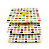 Baleiro Quadrado para Cupcake Color Balls Ultrafest
