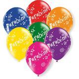Balões De Látex Parabéns Sortidos - 25 Unidades - Balloontech