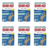 Band Aid Curativo Flexível C/20 (Kit C/06)