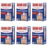 Band Aid Curativo Transparente C/40 (Kit C/06)