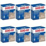 Band Aid Formas Variadas Curativo C/40 (Kit C/06)
