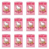 Band Aid Hello Kitty Curativos C/25 (Kit C/12)