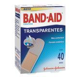 Band-Aid Johnson's Transparente Com 40 Unidades - Johnsons