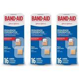 Band Aid Pequenos Ferimentos Curativo C/16 (Kit C/03)