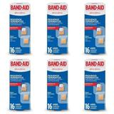 Band Aid Pequenos Ferimentos Curativo C/16 (Kit C/06)