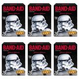 Band Aid Star Wars Curativo Infantil C/25 (Kit C/06)