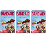 Band Aid Toy Story Curativo Infantil C/25 (Kit C/03)