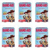 Band Aid Toy Story Curativo Infantil C/25 (Kit C/06)