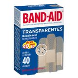 Band Aid Transparente Com 40 Un - Johnson  johnson