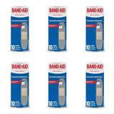 Band Aid Transparente Curativo C/10 (Kit C/06)