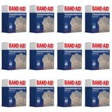Band Aid Transparente Curativo C/40 (Kit C/12)