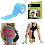 Bandagem elastica / fita adesiva neuromuscular colors 5mx5cm na caixa - Royal eletronic - Mbfit