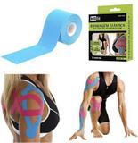 Bandagem elastica / fita adesiva neuromuscular colors 5mx5cm na caixa - Royal eletronic