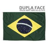 Bandeira do Brasil Dupla Face Oficial ABNT NBR 112x160cm - Bandeiras blumenau