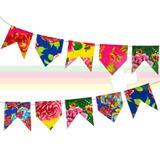 Bandeirinha de Tecido Chita para Festa Junina - Festabox
