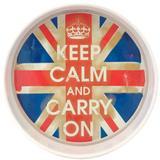 Bandeja Keep Calm And Carry On - Versare anos dourados
