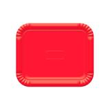 Bandeja Ultrafest 32x39cm (b5) Vermelha