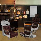 Barbearia Tebas - Tera móveis