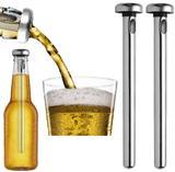 Bastão Resfriador Inox Garrafa Bebida Cerveja Bar Kit 2pçs - Home