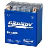 Bateria Brandy Gel YTX7L BS Cbx250 Twister Cb300 Nx4 Falcon Hornet 05/07 Titan 150 Fazer 250 Xtz250 Lander Speed150 Stx200 Xr250 Tornado Tenere 250