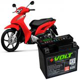 Bateria Moto Biz 100 125 Volt Selada 5Ah 12v