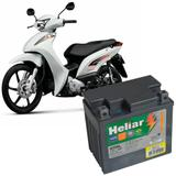 Bateria Moto Biz 100 Heliar HTZ5L PowerSports Selada 4Ah 12V