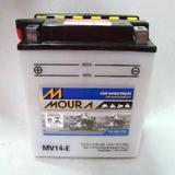 Bateria Moto  Moura Cbx 750,vulcan 750 14 Amperes Mv14e = Yb14-a2