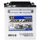 Bateria Moto Mv12-d Moura 12ah Honda CB550SC CB650SC Nighthawk Yamaha XT TENERE