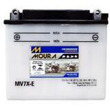 Bateria Moto Mv7x-e Moura 7ah Honda CBX AERO XR Yamaha DT NEO AT TDM TTR 225 XT