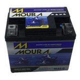 Bateria Moura MA5D 125/150 Cg/titan/biz/nxr/bros/fan/xre300