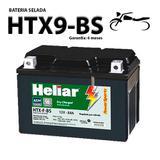 Bateria selada honda 500 cb 500 original heliar htx9bs