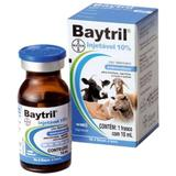 Baytril 10ml Injetável 10 - Bayer