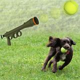Bazucão Lançador De Bola Para Cães Brinquedo - Verde - The pets brasil